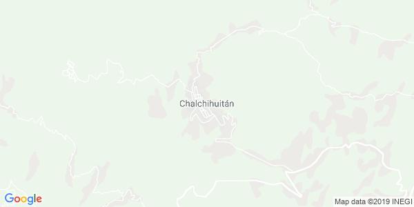 Mapa de CHALCHIHUITÁN