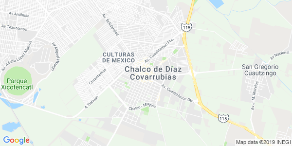 Mapa de CHALCO