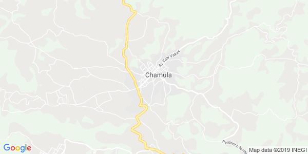 Mapa de CHAMULA