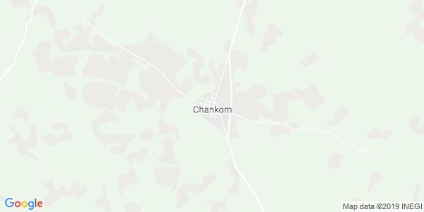 Mapa de CHANKOM