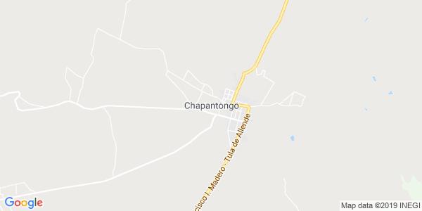 Mapa de CHAPANTONGO