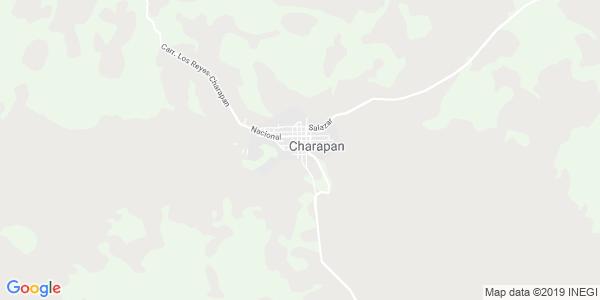 Mapa de CHARAPAN