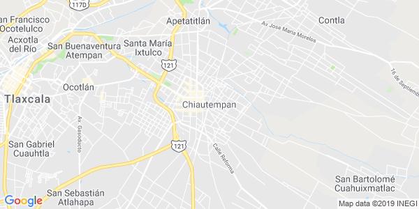 Mapa de CHIAUTEMPAN