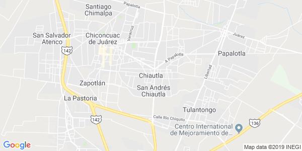 Mapa de CHIAUTLA