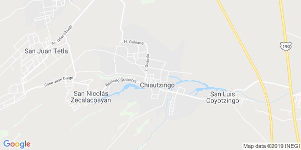 Mapa de CHIAUTZINGO