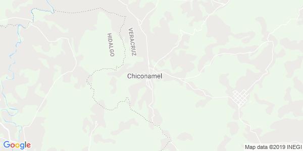 Mapa de CHICONAMEL