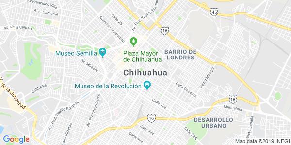 Mapa de CHIHUAHUA