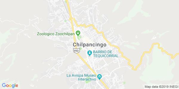 Mapa de CHILPANCINGO DE LOS BRAVO