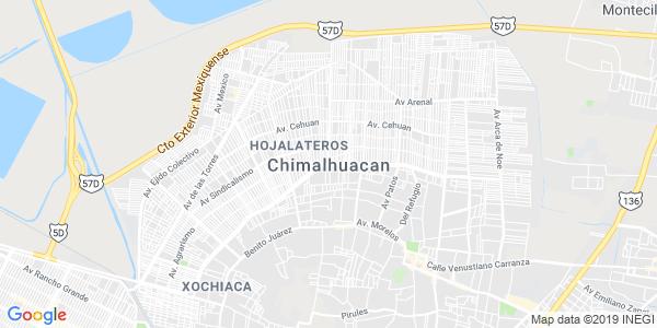 Mapa de CHIMALHUAC�N