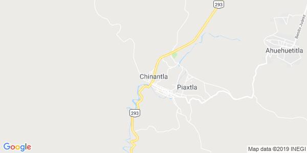 Mapa de CHINANTLA