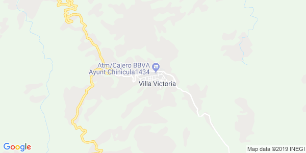 Mapa de CHINICUILA