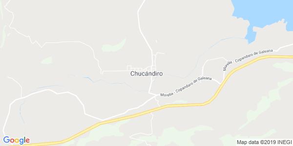 Mapa de CHUCÁNDIRO