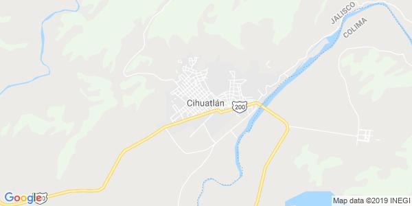 Mapa de CIHUATL�N