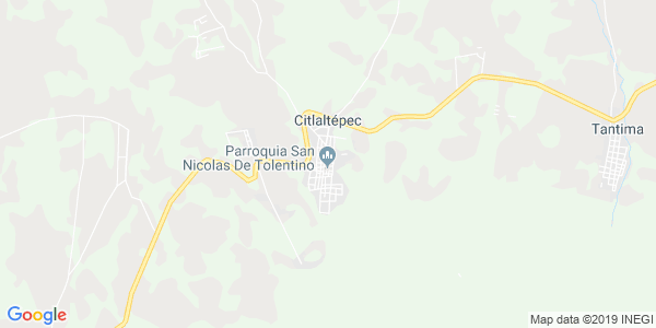 Mapa de CITLALTÉPETL