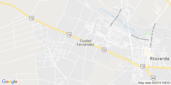 Mapa de CIUDAD FERN�NDEZ