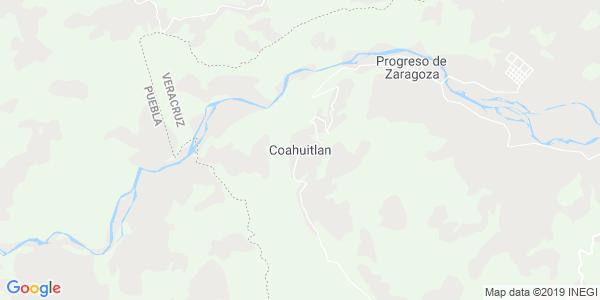Mapa de COAHUITLÁN