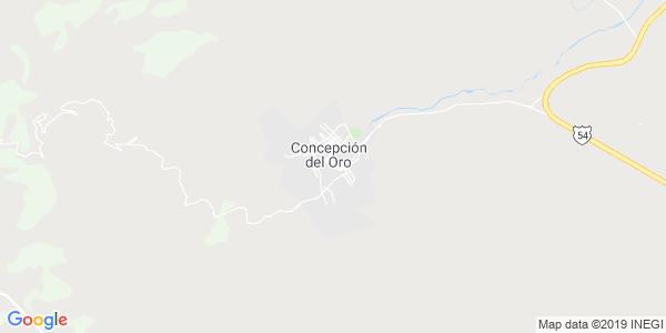 Mapa de CONCEPCIÓN DEL ORO