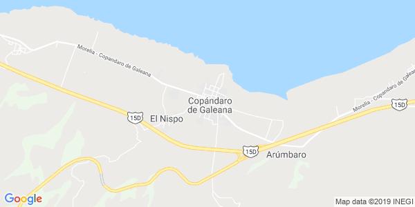 Mapa de COPÁNDARO
