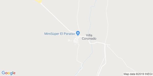 Mapa de CORONADO