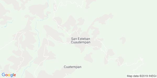 Mapa de CUAUTEMPAN