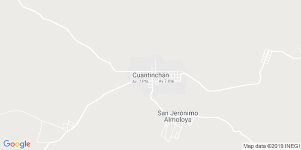 Mapa de CUAUTINCH�N