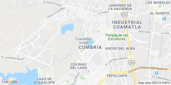 Mapa de CUAUTITL�N IZCALLI