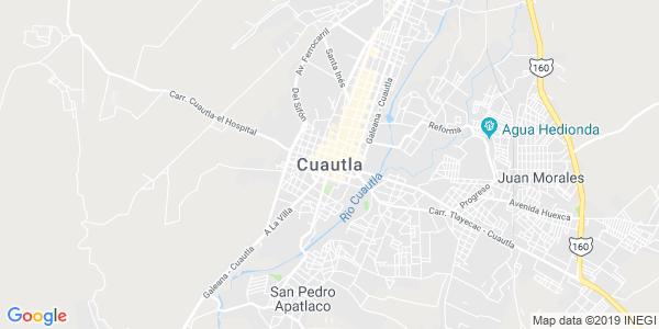 Mapa de CUAUTLA