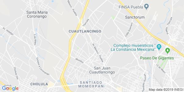 Mapa de CUAUTLANCINGO
