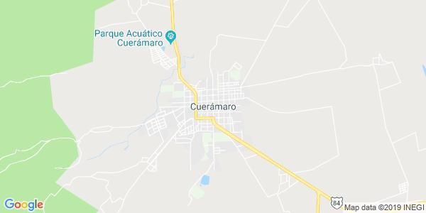 Mapa de CUERÁMARO