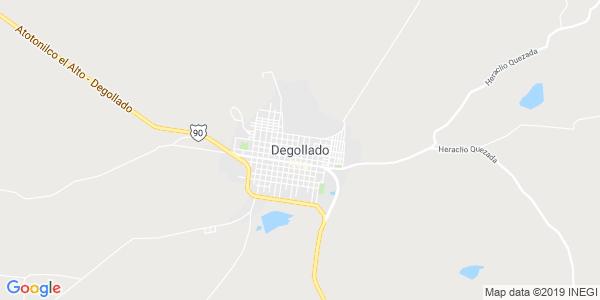 Mapa de DEGOLLADO