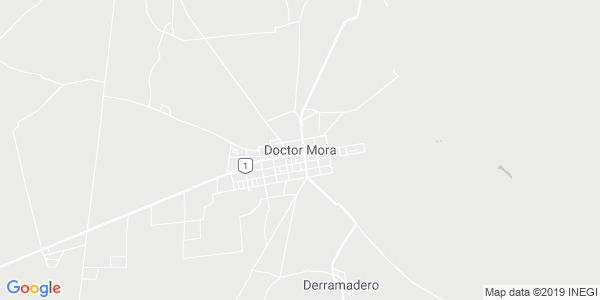 Mapa de DOCTOR MORA