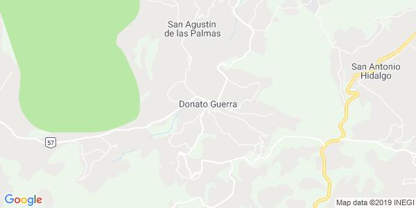 Mapa de DONATO GUERRA