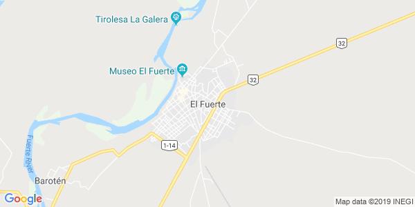 Mapa de EL FUERTE