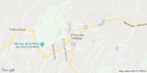 Mapa de EL ORO