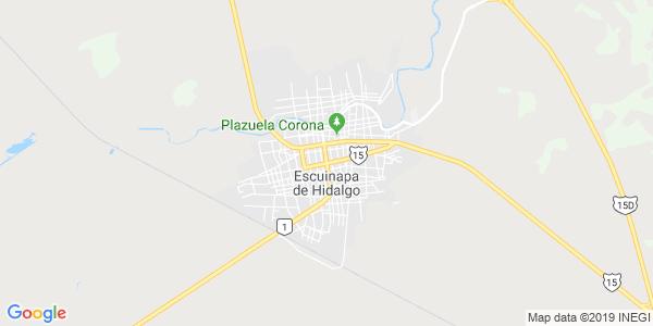 Mapa de ESCUINAPA