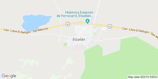 Mapa de ETZATL�N