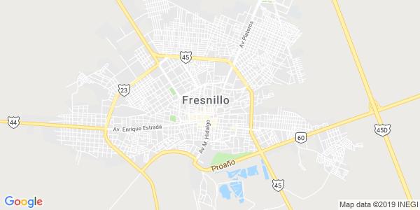 Mapa de FRESNILLO