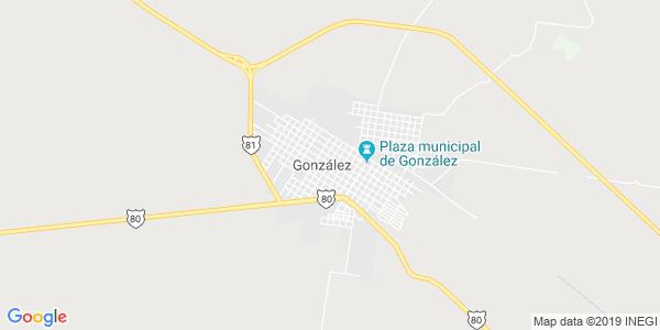 Mapa de GONZ�LEZ