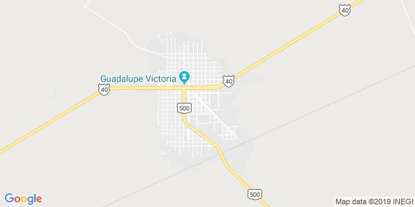 Mapa de GUADALUPE VICTORIA