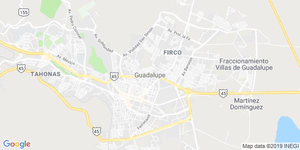 Mapa de GUADALUPE