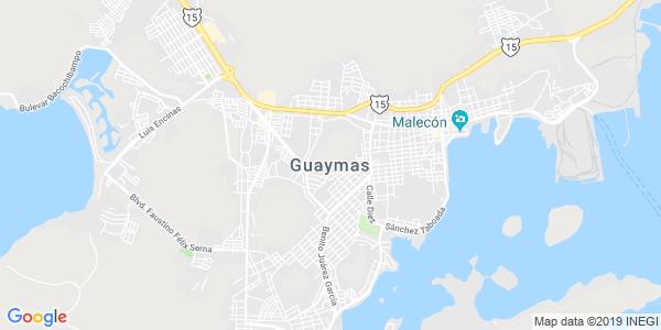 Mapa de GUAYMAS
