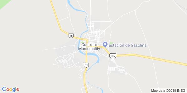 Mapa de GUERRERO