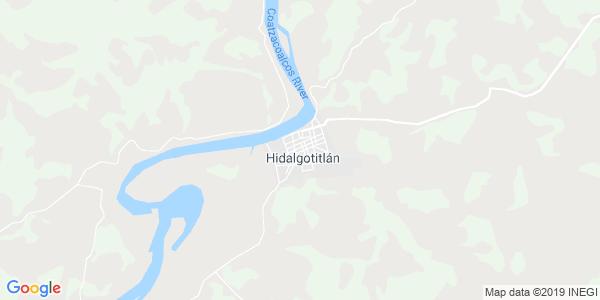 Mapa de HIDALGOTITLÁN