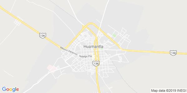 Mapa de HUAMANTLA