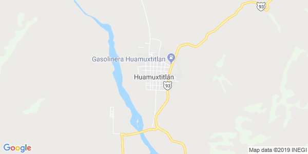 Mapa de HUAMUXTITL�N