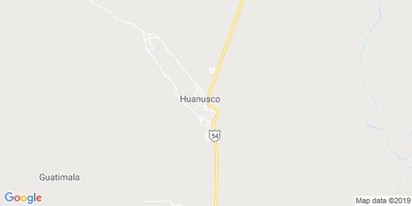 Mapa de HUANUSCO