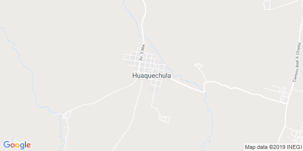 Mapa de HUAQUECHULA