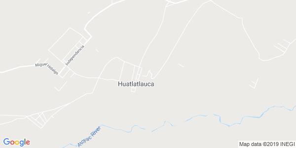 Mapa de HUATLATLAUCA