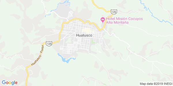 Mapa de HUATUSCO