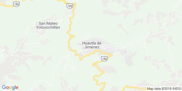 Mapa de HUAUTLA DE JIM�NEZ
